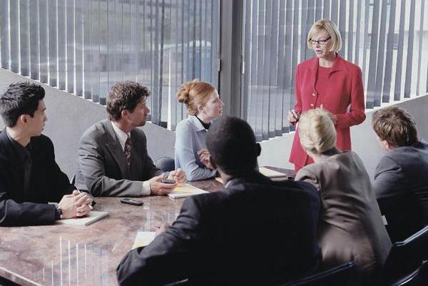 деловое собрание людей это формальные отношения
