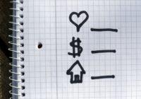 нарисованы символы сфер жизни