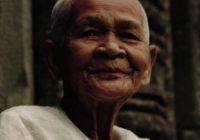 китайская пожилая женщина