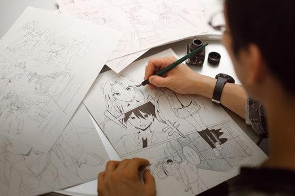обучение профессии в онлайн школе рисования